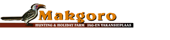 Makgoro Hunting & Holiday Farm