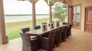 Makgoro Lodge Patio